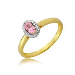 Złoty pierścionek P1918