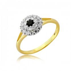 Złoty pierścionek P1915