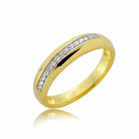 Złoty pierścionek P1914