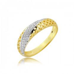 Złoty pierścionek P1913