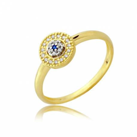 Złoty pierścionek P1910