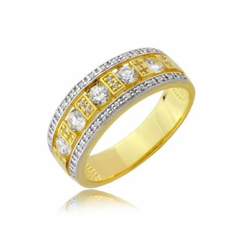 Złoty pierścionek P1909