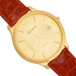 Złoty zegarek,męski model -Zv120-br