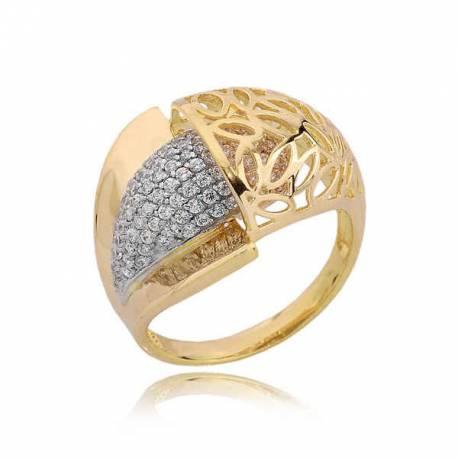 Złoty pierścionek PB185