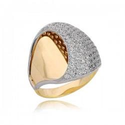 Złoty pierścionek PB187