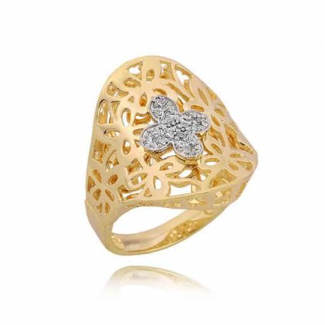 Złoty pierścionek PB190