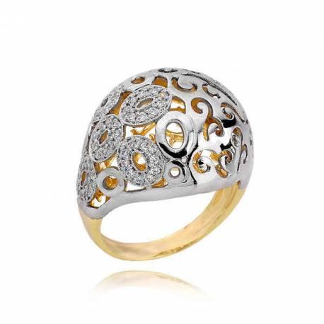 Złoty pierścionek PB192