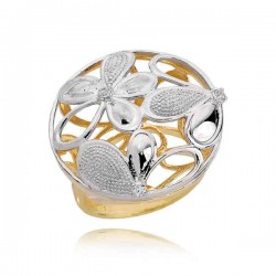 Złoty pierścionek PB196