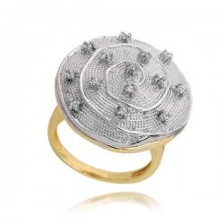 Złoty pierścionek PB198