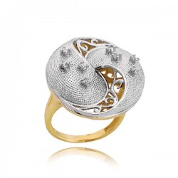 Złoty pierścionek PB200