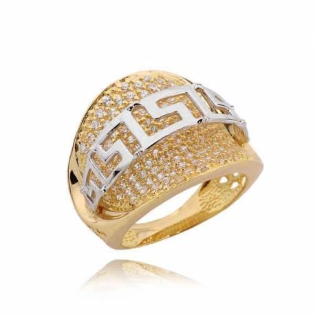 Złoty pierścionek PB205