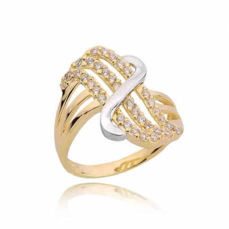 Złoty pierścionek PB208