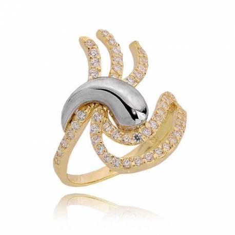 Złoty pierścionek PB210