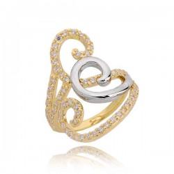 Złoty pierścionek PB211