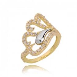 Złoty pierścionek PB214