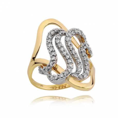 Złoty pierścionek PB225