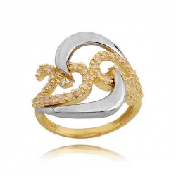 Złoty pierścionek PB227