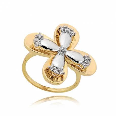 Złoty pierścionek PB228