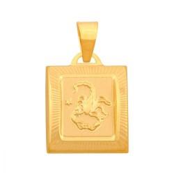 Złoty znak zodiaku,zodiak model-42446