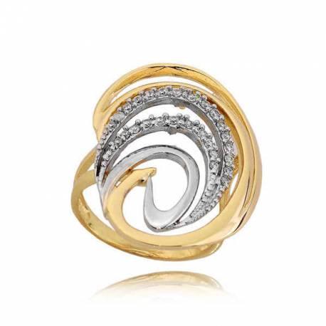 Złoty pierścionek PB229