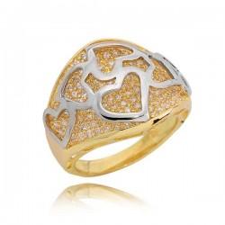 Złoty pierścionek PB230