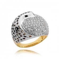 Złoty pierścionek PB233