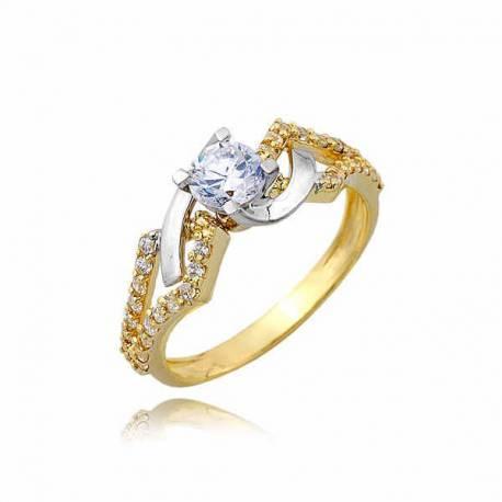 Złoty pierścionek PB248