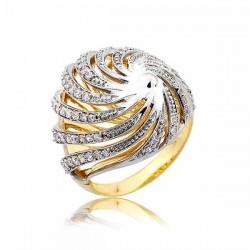 Złoty pierścionek PB258