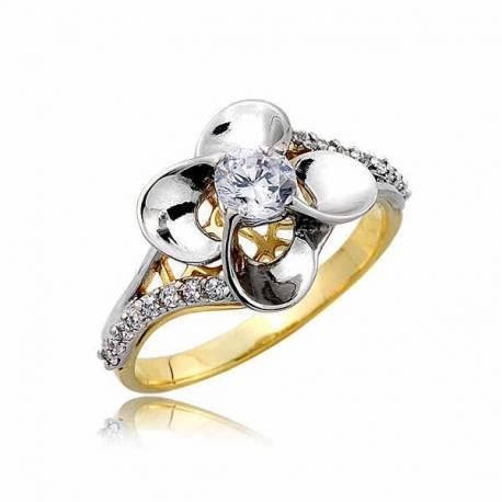 Złoty pierścionek PB262