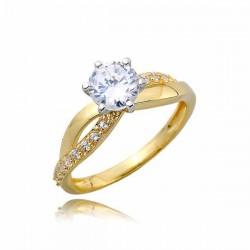Złoty pierścionek PB264