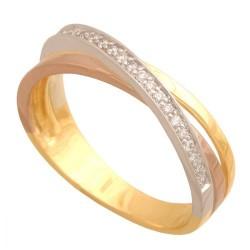 Pierścionek złoty Dp126