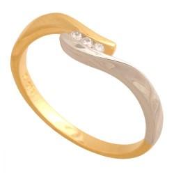 Pierścionek złoty Dp137