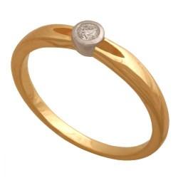 Pierścionek złoty Dp155