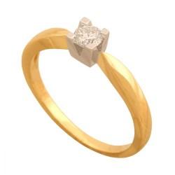 Pierścionek złoty Dp173