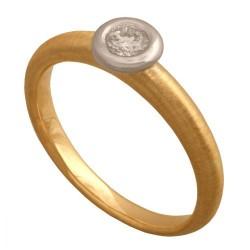 Pierścionek złoty Dp159
