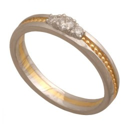 Pierścionek złoty Dp160