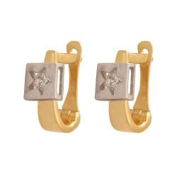 Kolczyk złoty wzór-33717