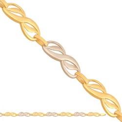 Złota bransoleta 42742