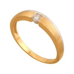 Pierścionek złoty Dp182