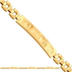 Złota bransoleta 43145