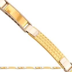 Złota bransoleta 43146