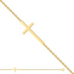 Złota bransoleta 36338