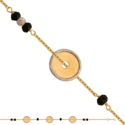 Złota bransoleta 43103
