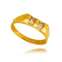 Pierścionek złoty P1363