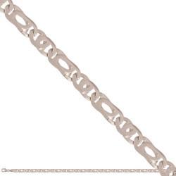 Łańcuszek z białego złota -46239