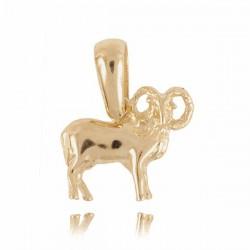 Złoty znak zodiaku Z3 BARAN