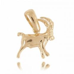 Złoty znak zodiaku Z3 KOZIOROŻEC