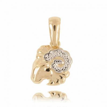 Złoty znak zodiaku Z1 BARAN