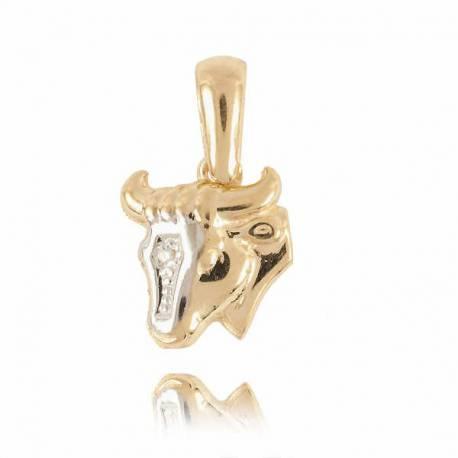 Złoty znak zodiaku Z1 BYK