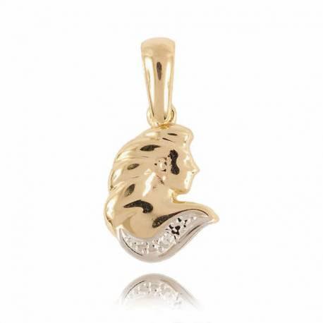 Złoty znak zodiaku Z1 PANNA
